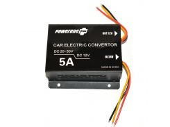 Инвертор PowerOne Plus (24V-12V) 5A