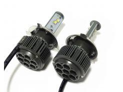 Светодиодные лампы Sho-Me H4 6000K 40W G1.1 (пара)