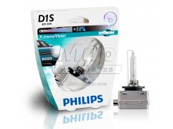 Ксеноновая лампа Philips D1S X-tremeVision 35W (85415XVS1) (1pcs blister)