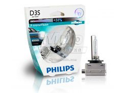 Ксеноновая лампа Philips D3S X-tremeVision 35W (42403XVS1) (1pcs blister)