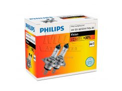 Галогеновая лампа Philips H4 Vision (12342PRC2) (2pcs carton)