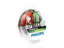 Галогеновая лампа Philips H7 LongLife EcoVision (12972LLECOS2) (2pcs blister)