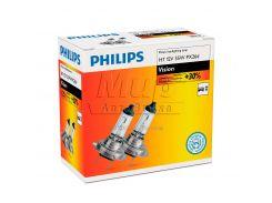 Галогеновая лампа Philips H7 Vision (12972PRC2) (2pcs carton)