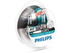Галогеновая лампа Philips H7 X-tremeVision +130% (12972XV+S2) (2pcs blister)