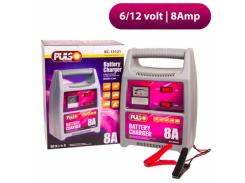 Зарядное устройство для аккумуляторов PULSO BC-15121 (6-12V/8A/9-112AHR)