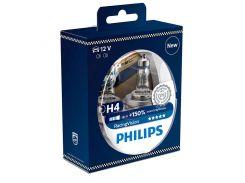 Галогеновая лампа Philips H4 RacingVision +150% (12342RVS2) (2pcs blister)