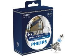 Галогеновая лампа Philips H7 RacingVision +150% (12972RVS2) (2pcs blister)