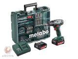 Цены на Metabo Аккумуляторная дрель-шу...