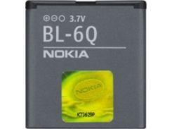 Nokia BL-6Q (оригинальный аккумулятор Nokia)