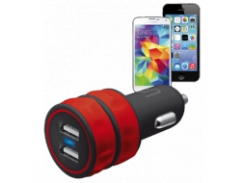 Зарядное устройство Urban Revolt DUAL SMART CAR CHARGER RED