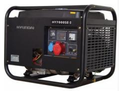 Бензогенератор Hyundai HY 7000SE-3