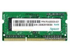 Apacer SoDIMM DDR3 8GB 1600 MHz (AS08GFA60CATBGJ)
