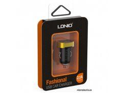 LDNIO Автомобильное зарядное устройство DL-C211 1USB, 2.1A  Black (31480)