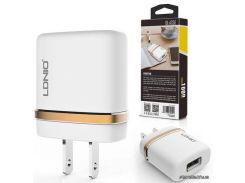 LDNIO Сетевое зарядное устройство Travel Charger DL-AC-50 (2,1A)  White