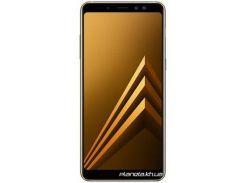Мобильный телефон Samsung Galaxy A8+ 2018 SM-A730F Dual Sim Gold (SM-A730FZDDSEK)