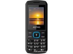 Мобильный телефон Astro A170 Dual Sim Black Вlue (A170Black/Вlue)