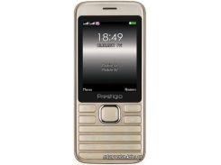 Мобильный телефон PRESTIGIO Grace A1 1281 Dual Sim Gold (PFP1281DUOGOLD)