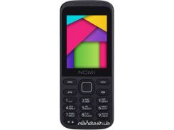 Мобильный телефон Nomi i244 Black Red