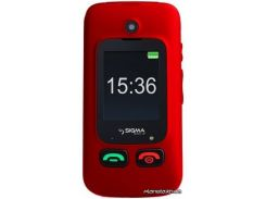Мобильный телефон Sigma Comfort 50 Shell Duo Black Red