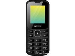 Мобильный телефон Nomi i184 Black-Grey (Чорно-Сірий)