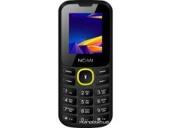 Мобильный телефон Nomi i184 Black-Yellow (Чорно-Жовтий)