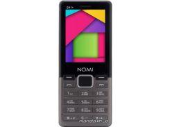 Мобильный телефон Nomi i241+ Metal Dark-Grey