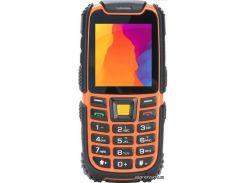 мобильный телефон nomi i242 x-treme black orange
