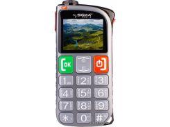 Мобильный телефон Sigma Comfort 50 Light Dual Sim Grey