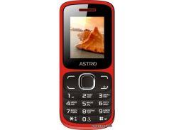 Мобильный телефон Astro A177 RX Red Black