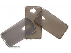 Florence силиконовый чехол-накладка для телефона ZTE L110 серый