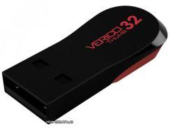 USB флешка Verico USB 32Gb Thumb Black Red
