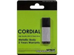 USB флешка Verico USB 2.0 4Gb Cordial Silver