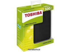 "HDD-накопитель Toshiba Canvio Ready портативный внешний жесткий диск 2.5"" 500GB USB 3.0 Black (HDTP205EK3AA)"