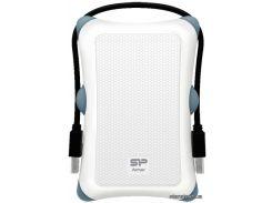 HDD-накопитель Silicon Power Armor A30 1000GB USB 3.0 White (SP010TBPHDA30S3W)