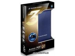 HDD-накопитель Silicon Power Armor A80 1000Gb USB 3.0 Blue (SP010TBPHDA80S3B)