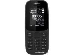 мобильный телефон nokia 105 single sim 2017 new black (черный) (a00028356)