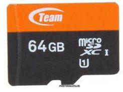 Карта памяти Team 64GB microSD Class 10 UHS-I (TUSDX64GUHS29) для телефона или планшета