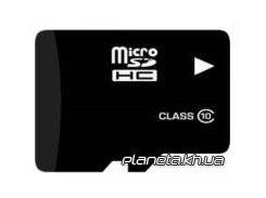Карта памяти eXceleram microSDHC 16Gb class 10 (MSD1610) для телефона или планшета