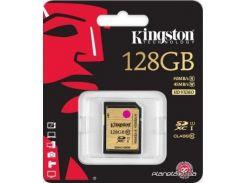 Карта памяти Kingston SDXC 128GB UHS-I Ultimate 400X Class10 (SDA10/128GB) для фотоаппарата