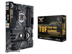 Материнская плата Asus TUF B360-PRO GAMING WI-Fi ATX, Socket 1151, 2-Way AMD CrossFireX, 8-Gen Intel Core /Pentium/Celeron, Intel B360, DDR4, 64 GB, Intel HD Graphics, 1 x PCI-Eх 3.0 x16, 1x PCI-Eх 3.