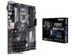 Материнская плата Asus PRIME B360-PLUS ATX, Socket 1151, 8-е поколение Intel Core i7/Core i5/Core i3/Pentiu, AMD CrossFireX, Intel, Intel B360, DDR4, 64 GB (PRIME B360-PLUS)