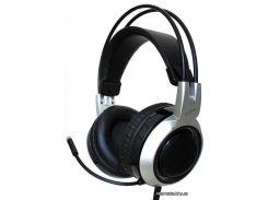 Наушники Somic G951 с выдвижным микрофоном, Black (черные) (9590010253) для телефона, планшета, плеера