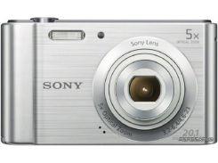 Фотоаппарат Sony Cybershot DSC-W800 Silver (DSCW800S.RU3)