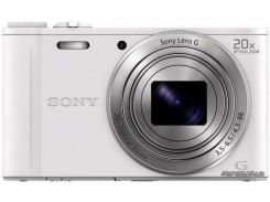 Фотоаппарат Sony Cybershot DSC-WX350 White (DSCWX350W.RU3)