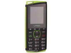 Мобильный телефон Sigma mobile Comfort 50 mini 4 Dual Sim Black Green (4827798337431)
