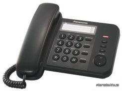 Стационарный телефон Panasonic KX-TS2352UAB Black