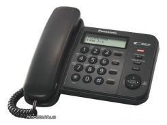 Стационарный телефон Panasonic KX-TS2356UAB Black