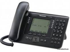 Стационарный телефон Panasonic Проводной IP телефон KX-NT560RU-B Black (KX-NT560RU-B)