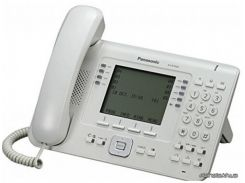 Стационарный телефон Panasonic Проводной IP телефон KX-NT560RU White (KX-NT560RU)