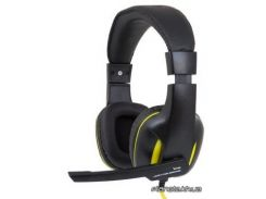 Наушники GEMIX W-390 Black Yellow